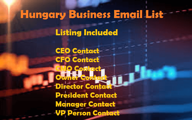 Hungary Business Email List